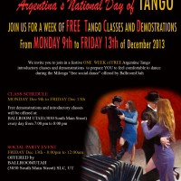 National Day of Tango